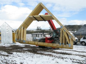 Moving the trusses around the plot