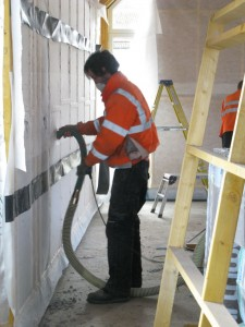 Blowing Warmcel into the walls